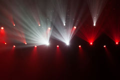 Stage lights on concert. Royalty Free Stock Image