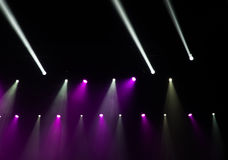 Stage lights on concert. Stock Image
