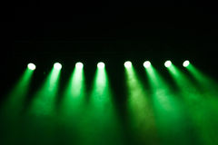 Stage lights on concert. Stock Photos