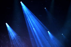 Stage lights at concert. Stage lights at a live concert royalty free stock image