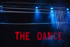 Stage Lights (the Dance) Stock Images