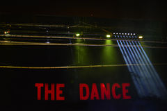 Stage Lights (the Dance) Royalty Free Stock Image