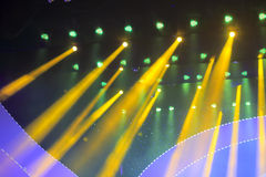 The stage lights Royalty Free Stock Photography