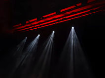 The stage lights