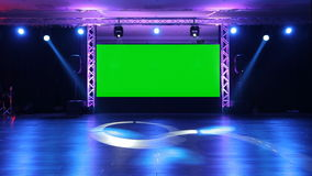 Stage and Lights stock video