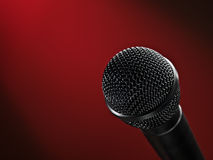 Stage microphone Stock Photos