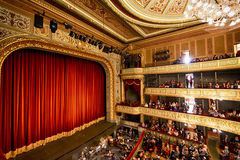 Stage of the Opera House in Riga Stock Photography