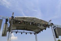 Stage platform Stock Photography