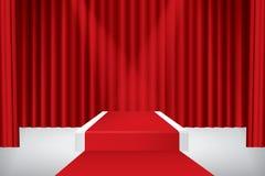 Stage podium Royalty Free Stock Photo
