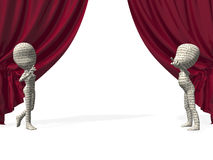 The stage Royalty Free Stock Photography