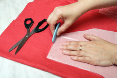 Stage sewing Stock Photos