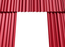 Stage show red velvet Stock Photos