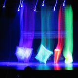 Stage show with slow shutter speed Stock Photos