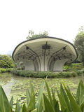 Stage at Singapore Botanic Gardens Stock Images