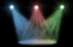 Stage spot light Royalty Free Stock Image
