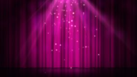 Stage with spot lighting, empty disco scene for show, award Ceremony or advertising on the dark purple Background