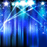 Stage Spotlight Stock Images