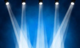 Stage spotlight Royalty Free Stock Photography