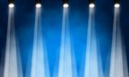 Stage spotlight. Illustration of bright stage spotlight Royalty Free Stock Photos