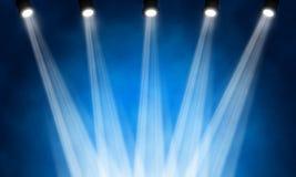 Stage spotlight. Illustration of bright stage spotlight Royalty Free Stock Photo