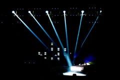 Stage Spotlight Stock Photos