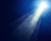 Stage spotlights Royalty Free Stock Images