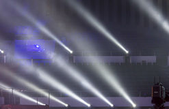 Stage spotlights. Photographed in Mianyang Royalty Free Stock Image