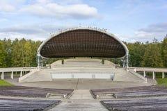 Stage in Tartu, Estonia. Biggest stage in Tartu, Estonia Royalty Free Stock Images