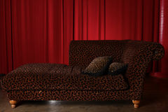 Stage Theater Drape Curtain Element Stock Images