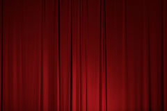 Stage Theater Drape Curtain Element Stock Photography