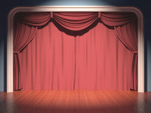 Stage Theater Royalty Free Stock Images