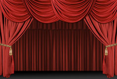 Stage Theatre Drape Background Royalty Free Stock Photo