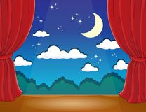 Stage theme image 2 Royalty Free Stock Photography