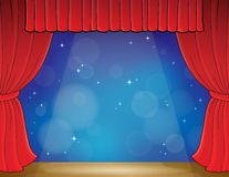 Stage theme image 3 Royalty Free Stock Images