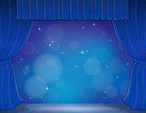 Stage theme image 4 Stock Images