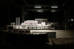 Free Stage With Cases Stock Photography - 5915272
