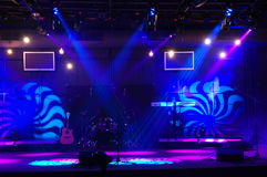 Free Stage With Lights Stock Photo - 3572800
