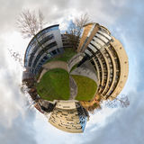 Stage World. A little planet, Leeds, UK Stock Photography