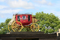Stagecoach. High Chaparral Royalty Free Stock Photography
