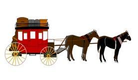 Stagecoach Zdjęcie Stock