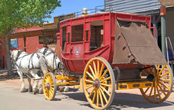 stagecoach Immagine Stock