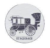 stagecoach Στοκ φωτογραφίες με δικαίωμα ελεύθερης χρήσης