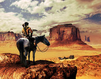 stagecoach ilustracja wektor
