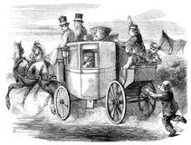 stagecoach royalty ilustracja