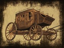 Stagecoach Imagens de Stock Royalty Free
