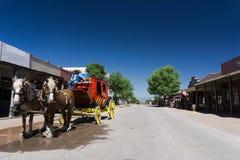 stagecoach zdjęcie royalty free