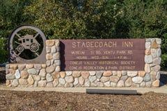 Stagecoach austeria Obrazy Stock