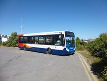 Stagecoach bus stock image