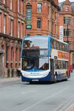 Stagecoach city bus Royalty Free Stock Photography