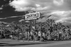Stagecoach Hotel and Casino in Beatty - BEATTY, USA - MARCH 29, 2019 royalty free stock photography
